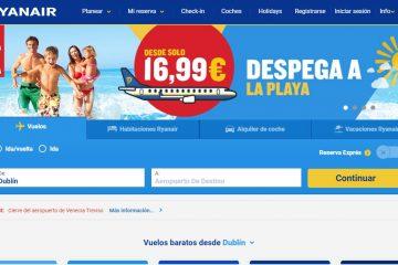 Salvar la web de Ryanair