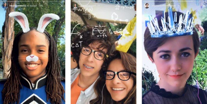 Instagram añade filtros para caras