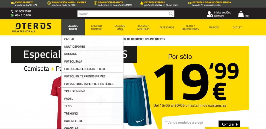 ventas calientes cf6b1 02873 Oteros Sport: opiniones y valoración