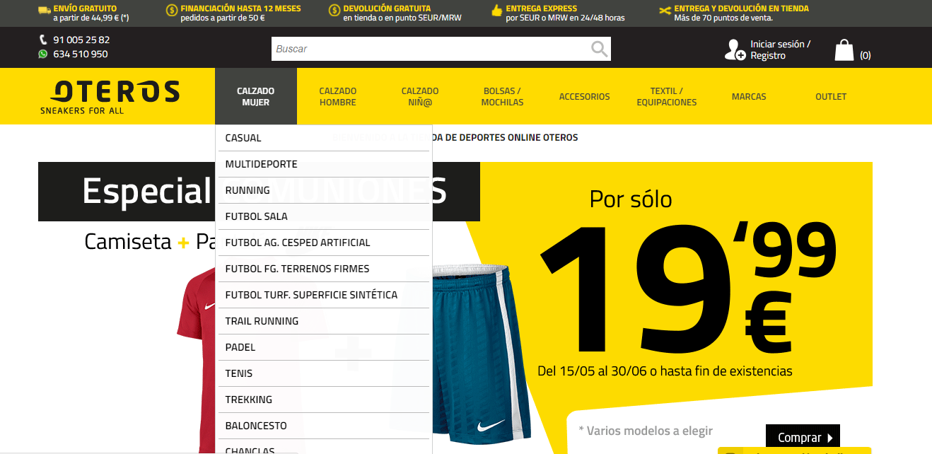 mujer calzado oteros mujer calzado oteros nike calzado nike mujer oteros F6qUIEw