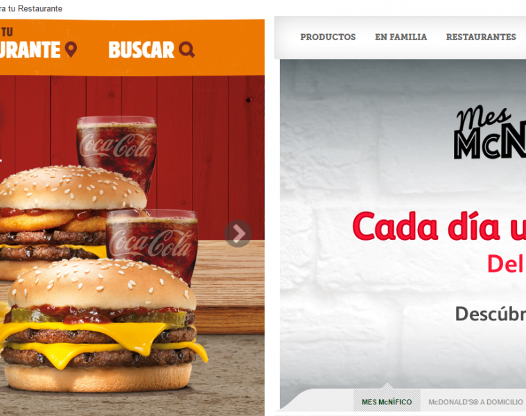 burger king y mcdonalds