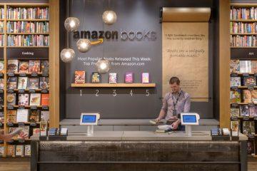 Librería física de Amazon en Nueva York