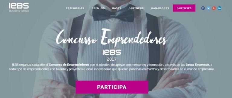 IEBS concurso de emprendedores