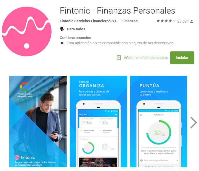 Fintonic levanta 25 millones de euros de financiación para invertir en LATAM