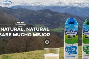 Se lanza la tienda online de Central Lechera Asturiana