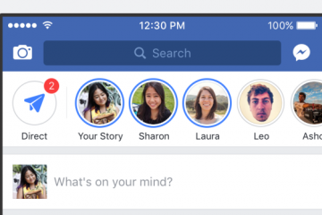 Facebook Stories para escritorio