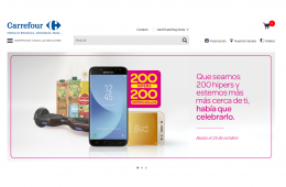 tienda Carrefour