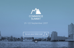 Commerce Summit 2017: El evento que reunirá expertos del sector digital en Hamburgo