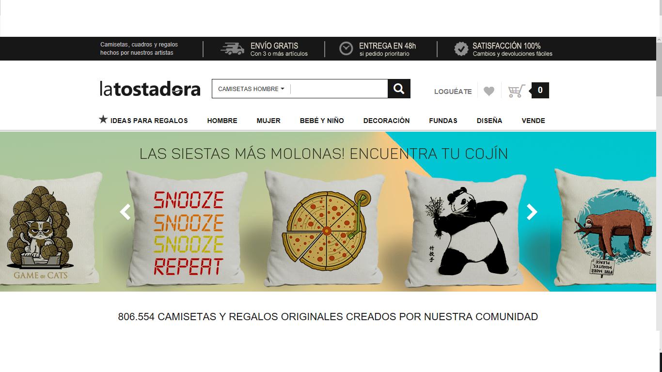 La Tostadora tienda online de camisetas  Opiniones y comentarios 2c9c762d08f2d