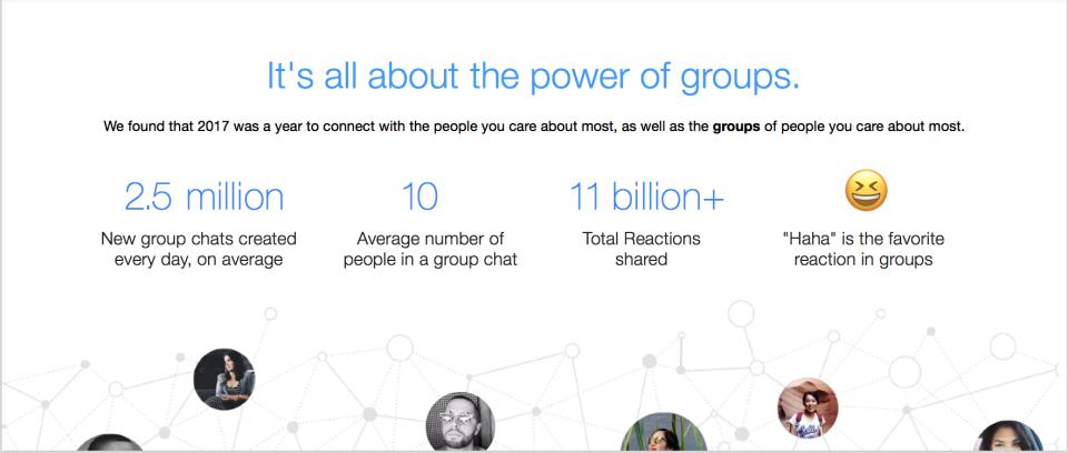 millones de emojis en Messenger grupos newsroom facebook 5