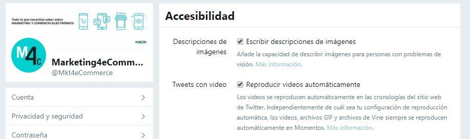 cómo mejorar la accesibilidad en Twitter describiendo imágenes