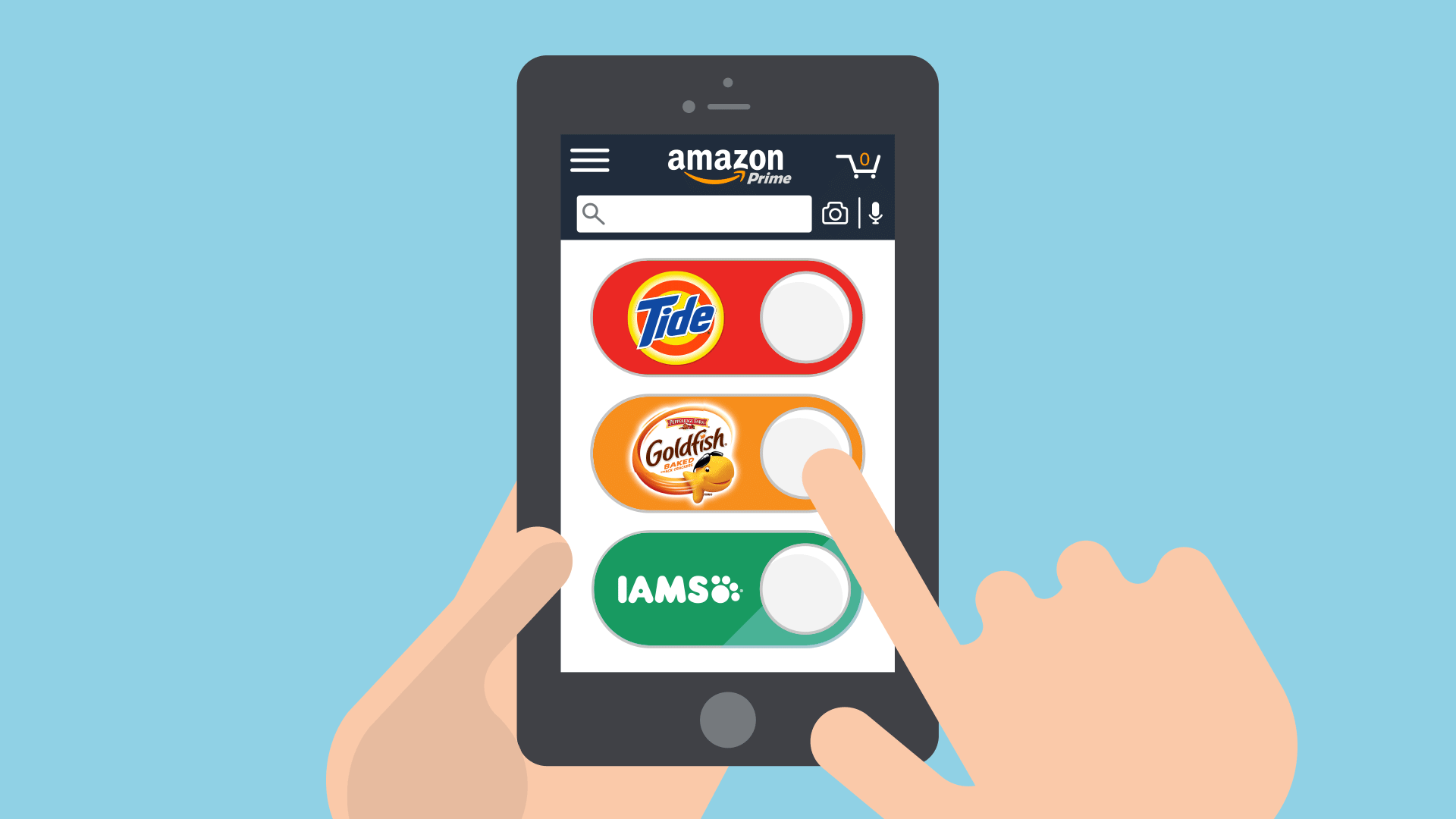 Amazon permitirá integrar dash buttons virtuales en los dispositivos inteligentes de terceros fabricantes
