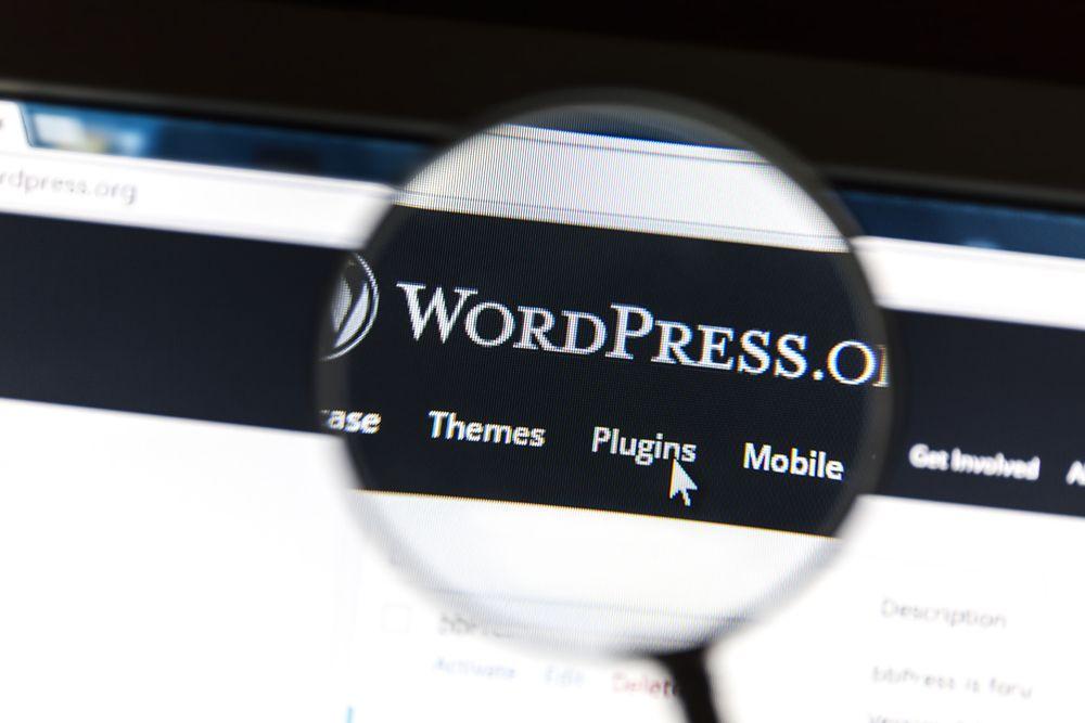 webs hechas con wordpress