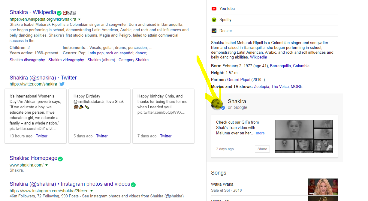 post en google