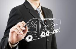logística camión reparto