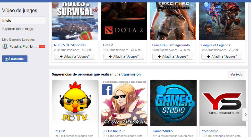 f7c06de44 Probamos Facebook Gaming