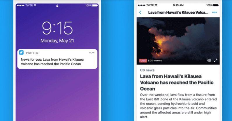 Twitter quiere mostrarte notificaciones personalizadas con las noticias que más te interesen