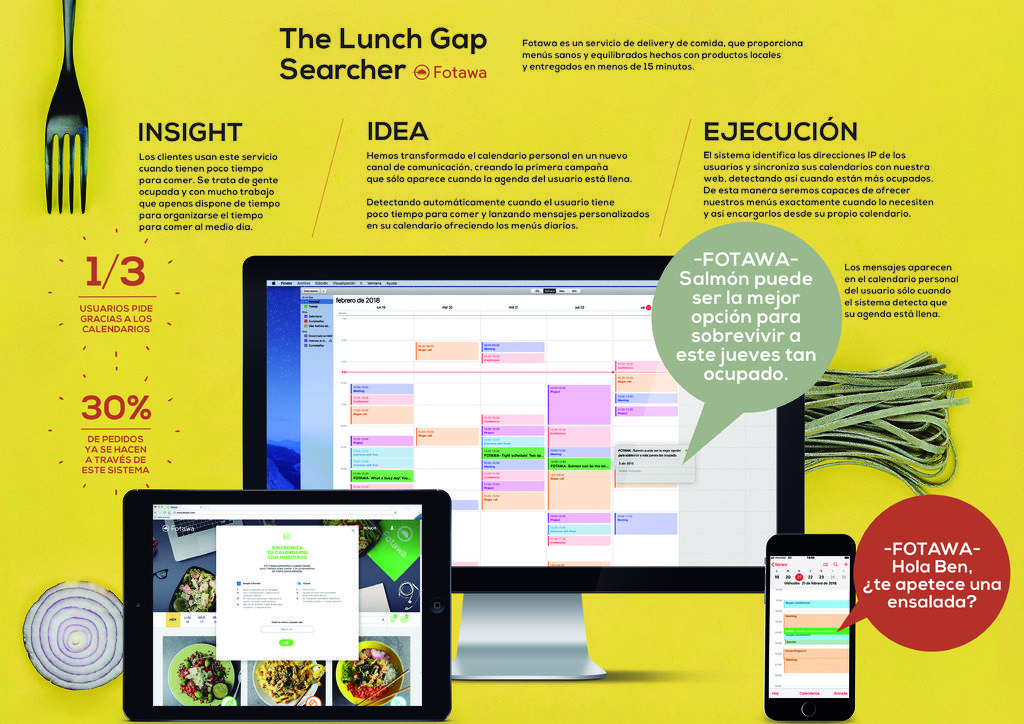The Lunch Gap Searcher by Fotawa