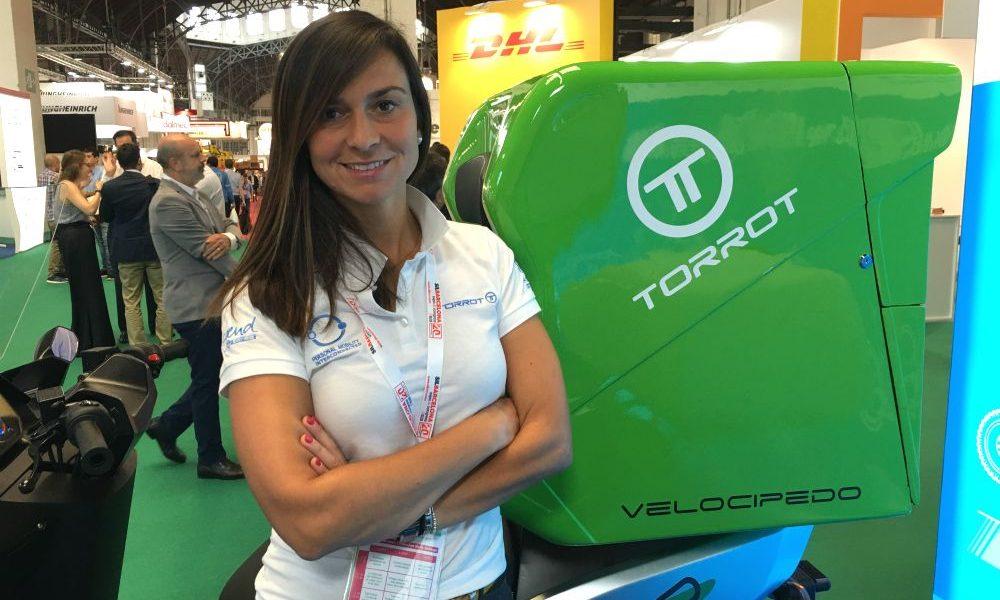 Cristina García de Lago, Torrot