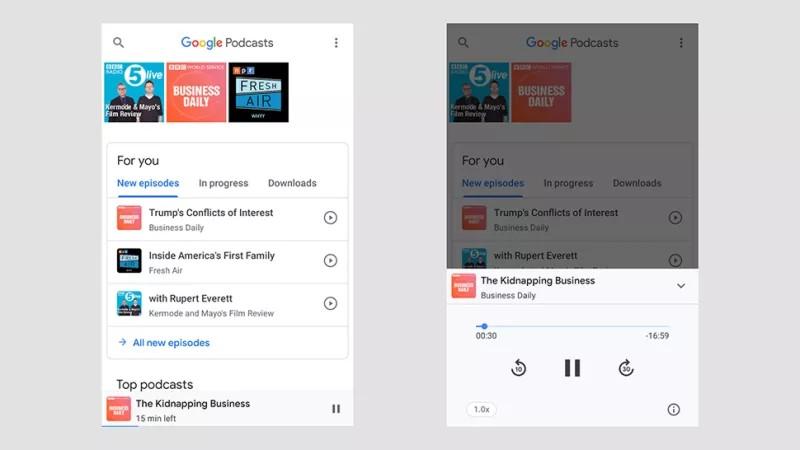 Google Podcast: la nueva app para escuchar tus podcast favoritos con el asistente de Google