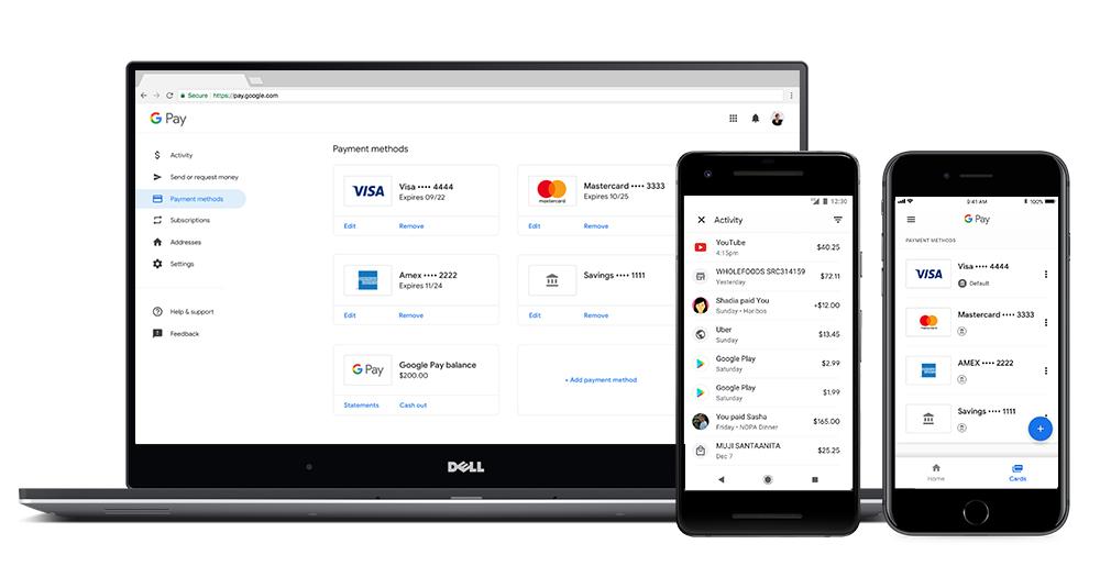 Ya es posible hacer pagos entre personas y comprar entradas y billetes de avión con Google Pay