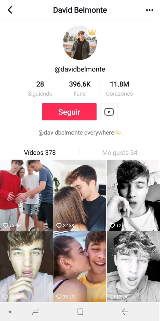 Musical.ly David Belmonte