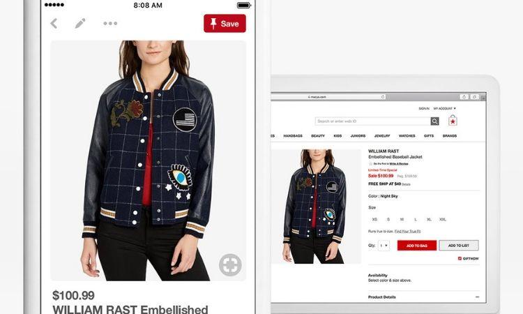 Pinterest responde a Instagram y Google y abre sus etiquetas comprables a todas las cuentas de empresa