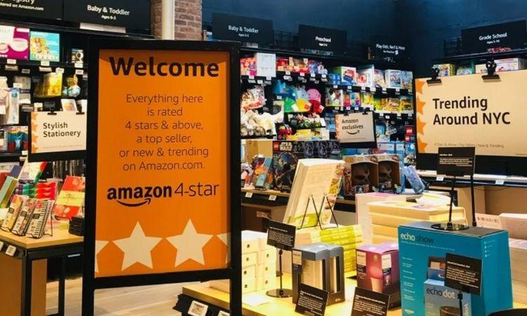 Amazon 4 estrellas: el gigante online abre una tienda en Nueva York para vender solo sus mejores productos