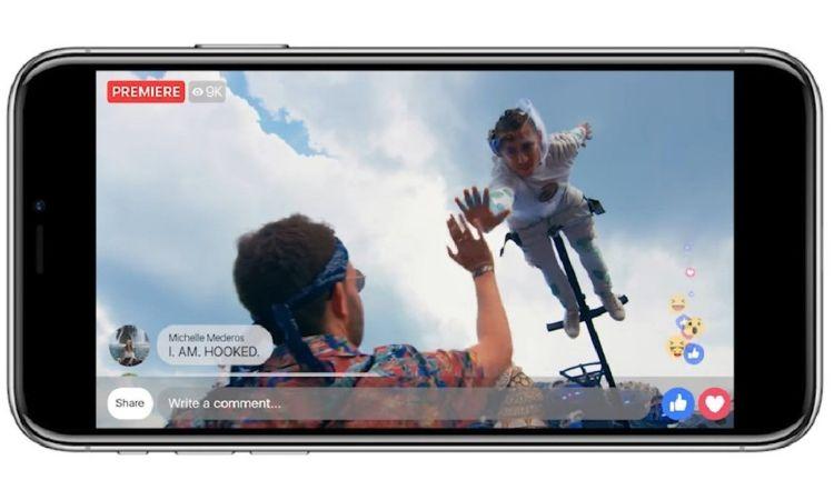 Facebook Estrenos, una nueva función para potenciar el vídeo en la red social