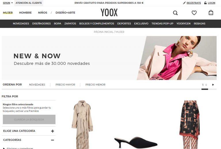 yoox opiniones