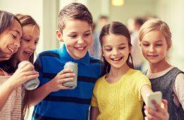 niños redes sociales