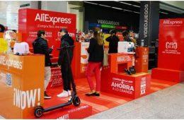 Aliexpress se alía con El Corte Inglés para estrenar su primer pop up store en España