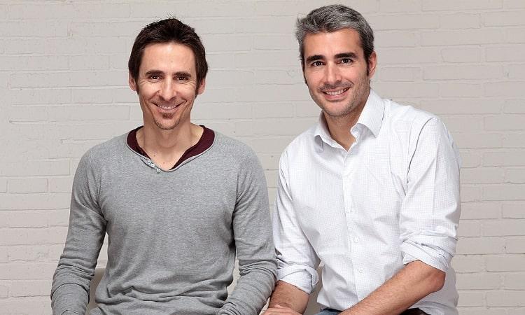 Lucas carné y José Manuel Villanueva