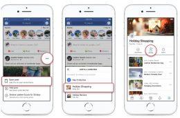 Ya puedes compartir tus colecciones de Facebook (justo antes de Navidad!)