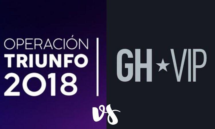 Operacion Triunfo vs Gran Hermano VIP