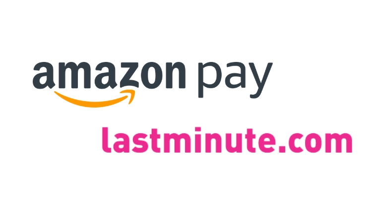 lastminute y amazon pay