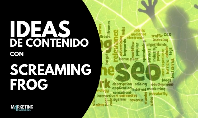 IDEAS DE CONTENIDO CON SCREAMING FROG