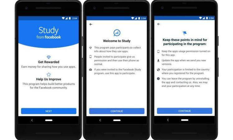 Facebook pagará a sus usuarios para controlar cómo usan su móvil (sí, otra vez)