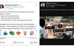 Así son las nuevas funciones de LinkedIn: ¿un Instagram profesional?