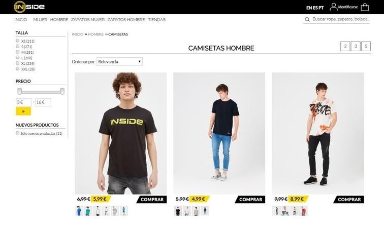 067bf6fcc027 Tiendas de moda online Inside: opiniones, análisis y valoraciones ...