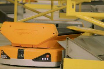 Barcelona, primer centro europeo en estrenar los Pegasus Drive, los alucinantes nuevos robots logísticos de Amazon