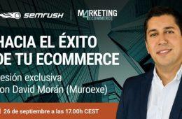 Webinar gratuito: descubre las claves del éxito de Muroexe, uno de los eCommerces europeos con mayor crecimiento
