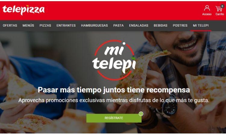 Telepizza lanza MiTelepi, su nuevo club de fidelización omnicanal