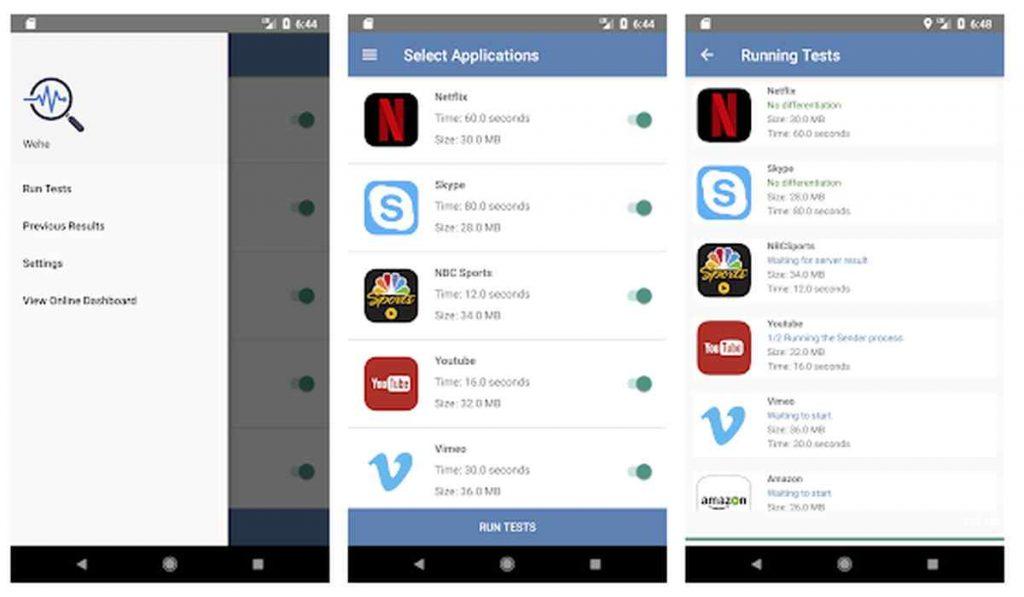 Wehe, la nueva aplicación móvil