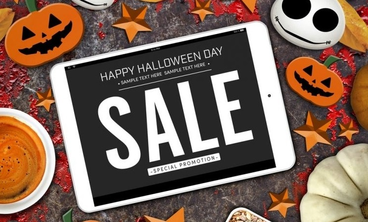 ecommerce en halloween online