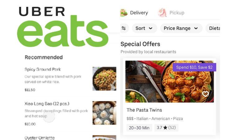 Uber se pasa al negocio publicitario: pronto verás anuncios de restaurantes en su app