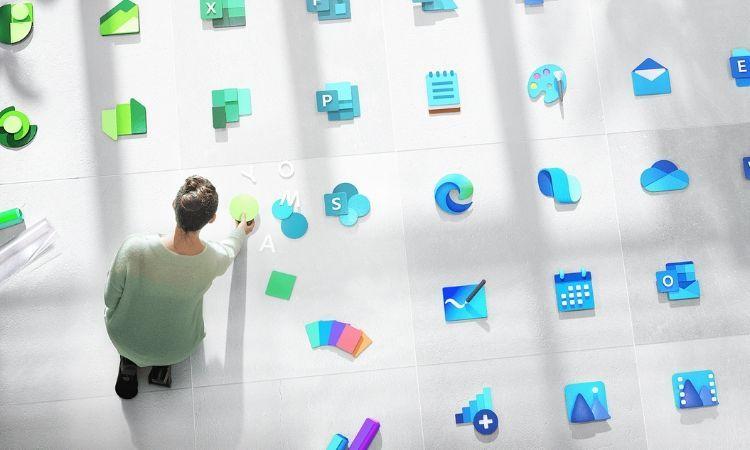 Microsoft cambia el diseño de Windows, Office y otros 100 de sus logos más clásicos