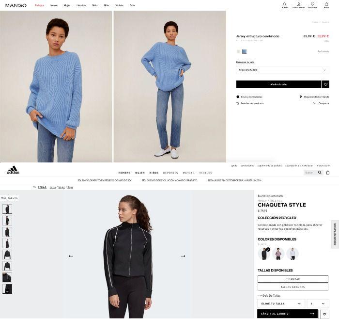 cambios fotografia producto