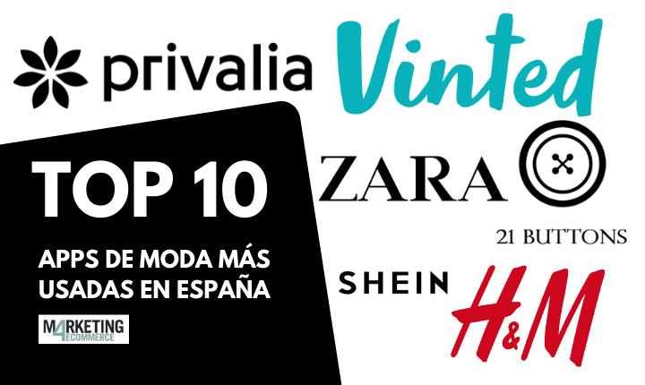 Top 10: las apps de moda más usadas de España