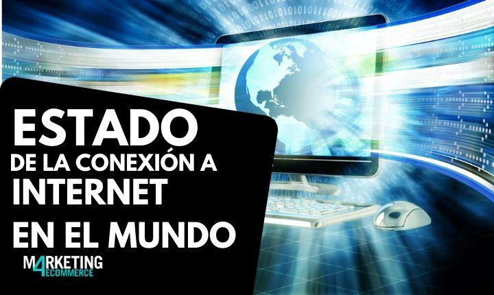 Estado de la conexión a Internet en el mundo: España, 11º puesto por velocidad